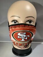 San Francisco 49ers Customized Reusable Cloth Face Covering Washable/Handmade.