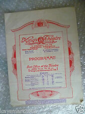 1923 King's Theatre Programme POLLY - Mr Gay,Roy Russell, Lilian Davies,F Austin