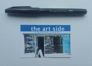 NEW Pentel Fude Touch Brush Sign Marker Art Student Pen Flexible Tip 24 COLOURS