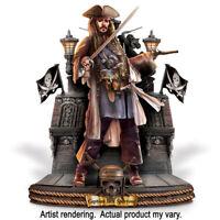 Bradford Exchange Disney Pirates The Caribbean Captains Sculptures Jack Sparrow