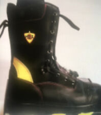 Fire Fighting Boots Haix Fire Flash Us Mens 145 Wide Excellent Condition