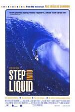 Step Into Liquid orig 2003 Surfing movie poster Bruce Brown/Laird Hamilton
