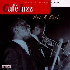 Café Jazz-Hot & cool (2001) Miles Davis, Sarah Vaughan, Coleman Hawkins.. [2 CD]