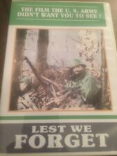 Lest We Forget Dvd , Eisenhower Banned War Documentary