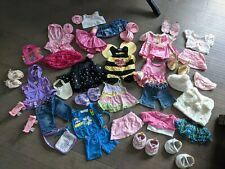 Build a Bear lot of outfits, clothes, shoes, and accessories