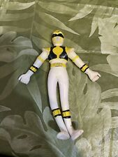 Mighty Morphin Power Rangers - Red And White Ranger - Bend Em Figures Pair