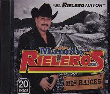 El Primo Manolo y sus Rieleros Mis Raices CD NUEVO Los Rieleros del Norte