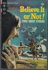 RIPLEY'S BELIEVE IT OR NOT #27 GOLD KEY 08/71 TRUE GHOST STORIES  W/ 4 TALES VF+