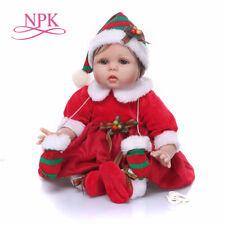 "Lifelike Reborn Baby Doll 22"" Doll Vinyl Kids Girl playmate Bambole rinascere"