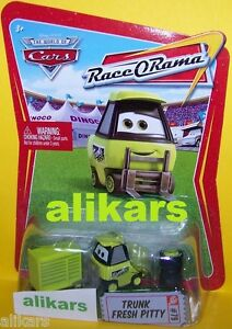 TRUNK FRESH PITTY #79 Race O Rama Collection ROR series Disney Pixar Mattel Cars