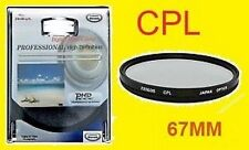 67mm CPL 67 mm C-PL POLARIZING POLARIZED FILTER fit FUJI FINEPIX S100FS S200EXR