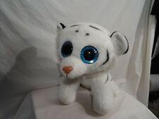 """TY VelveTY Tundra  White Baby Tiger beanbag plush 18"""""""