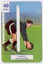RARE Football Playing Card - Burnley 1946-7