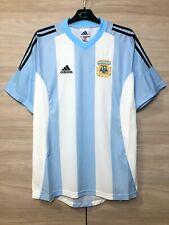 Argentina 2002-2004 Home Football Soccer Adidas Vintage Shirt Jersey size L