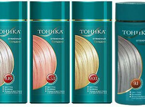 Hair Colouring,Tinting Tonic balm for a  hair of 150 ml No AMMONIA