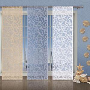 Single Net Window Panel Marine Rope Blind Curtain Fly Screen Slot top