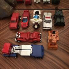 Lot of 8 Vintage 1980's Ko Gobots Robot Action Figures Transformers 80's