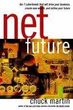Chuck Martin~NET FUTURE~SIGNED~1ST(8)/DJ~NICE COPY
