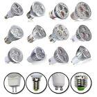 MR16 E27 GU10 E14 3W/4W/5W/9W LED Cool/Warm White Spot Light Lamp Bulb 85-265V