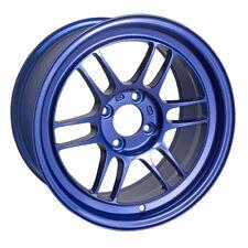 Enkei RPF1 15x8 4x100 28mm Victory Blue Wheels - Set of 4