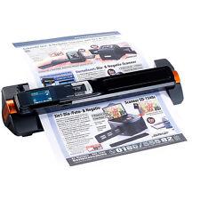 Dokumentenscanner: 2in1-Scanner: mobiler Handscanner mit Dockingstation 900 dpi