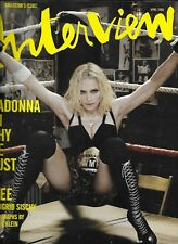 Interview magazine Madonna Brooke Shields Heath Ledger K.D. Lang Emma Roberts