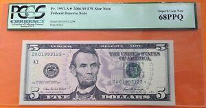 5 dollars Boston 2006 PCGS 68