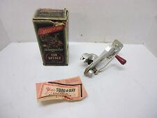 Vtg Swingmaster Swing-A-Way Model 600 Wall Mount Can Opener With Original Box