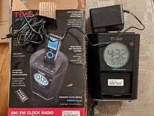 Timex TS70 Alarm Clock AM/FM Radio MP3 Aux-In Dock Sansa Indiglo Night Light