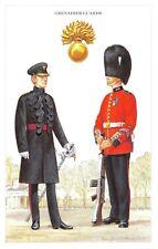 Postcard British Army Series No.21 Grenadier Guards by Geoff White