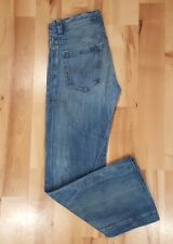 DIESEL SHAZOR MENS JEANS 28 X 32 LIGHT WASHED DISTRESSED