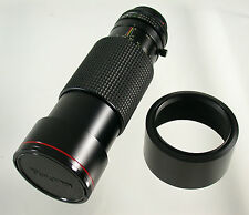 TOKINA AT-X APO SD Canon FD 4/100-300 100-300 100-300mm F 4 adapt A7 MFT NEX top