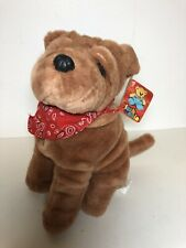 Nwt Bulldog English Valley Plush Mania Stuffed Animal Dog Puppy Lovey Toy