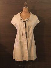 MARNI Beige  Leather Dress  - Italy 40 - US 6