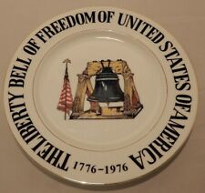 Liberty Bell of Freedom of Unite 00004000 d States Of America Collector's Plate Psm Japan