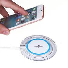 Qi Wireless Charger Fast Charging LED Pad for iPhone X/8/8 Plus Samsung S9 Plus