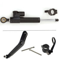 FXCNC Steering Damper Stabilizer Mount Bracket Kit For HONDA CBR954RR 2002-2003