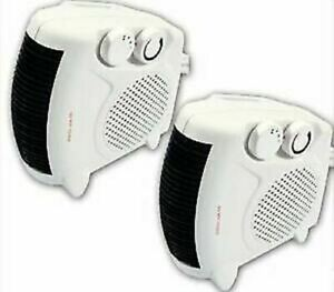 2000W PORTABLE SILENT ELECTRIC FAN HEATERS HOT & COOL UPRIGHT NEW HEATER