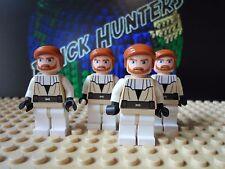 LEGO® Star Wars™ Obi Wan Kenobi Jedi Master minifig lot of (4) - Lego 7676