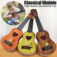 Beginner Classical Ukulele Guitar Educational Musical Instrument Toy for Kids ~