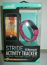 AVIA Stride AV-CF2001P Bluetooth Activity Tracker Pink Call & Text Notification