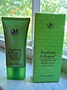 New* Serious SkinCare REPLICATE & RENEW PLANT STEM CELL DOUBLE CONCENTRATE 1fl.