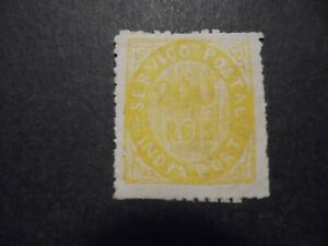 (Dec 020) Portugal Col. India stamp 1871 ?, unused MH