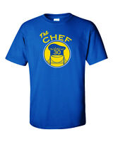 "Steph Curry Golden State Warriors ""The Chef"" jersey T-shirt  S-5XL"
