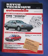 Revue technique  RTA 510 Ford scorpio 1.8 2.0 2.0i & twin-cam