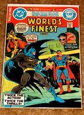 Worlds Finest #273 Superman Batman Plastic Man Etc Mid High Grade Bag & Board