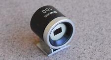 Canon 100mm Rangefinder RF P 7 7S Viewfinder Finder Eyepiece Leica LTM L39 View
