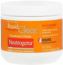 Neutrogena Rapid Clear Treatment Pads 60 Each (Pack of 5)