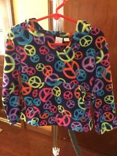 Girls size extra small 4 Fleece Pull Over Jacket