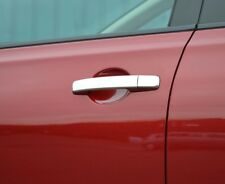 Manija De La Puerta Recortar Cubiertas Cromo con entrada sin llave O para adaptarse a Nissan Qashqai 06-14